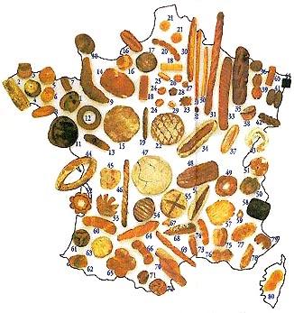 La France des pains