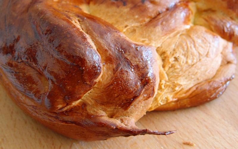 Première brioche et premier pain